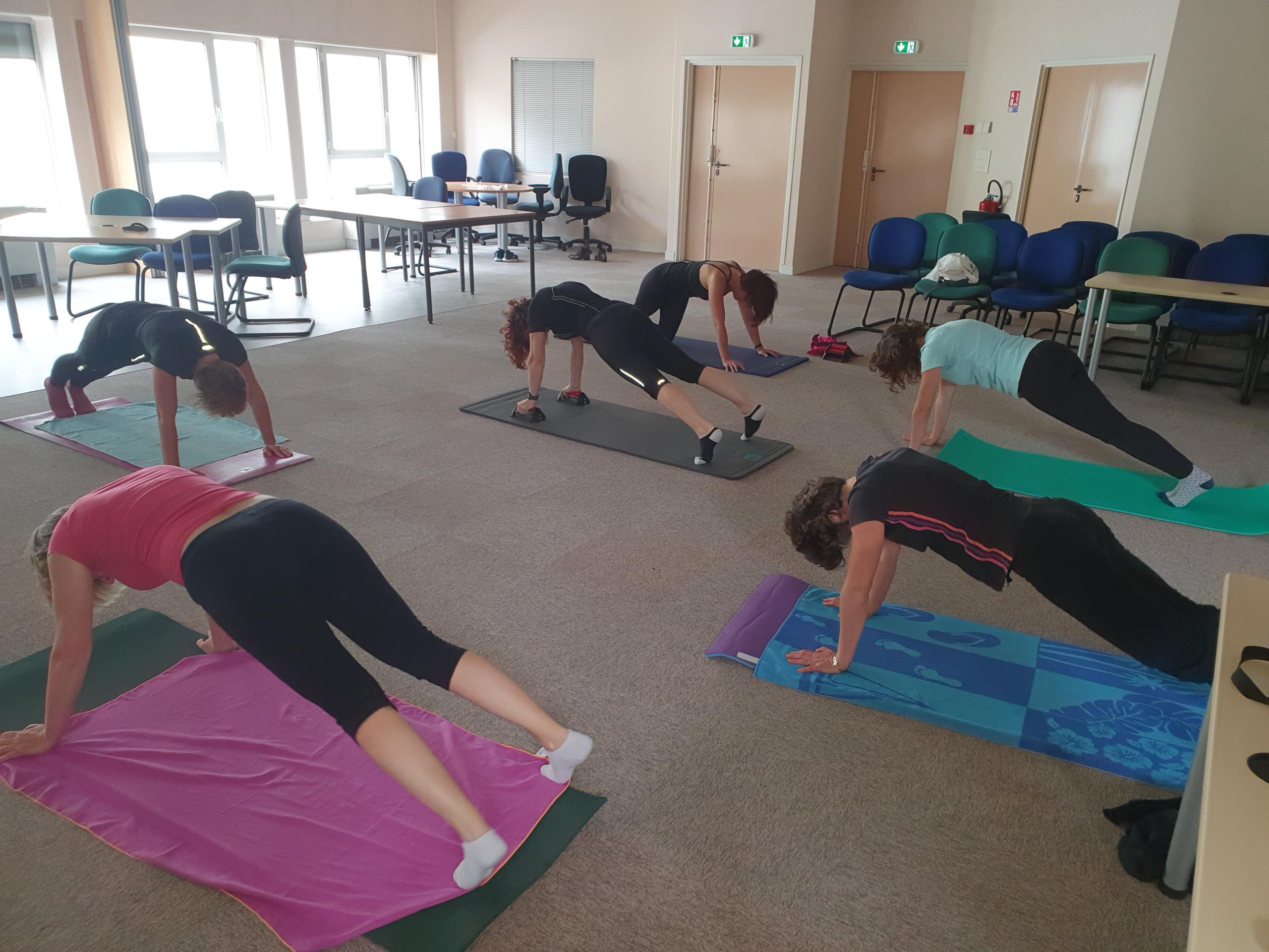 Pilates hebdomadaire chez Candor